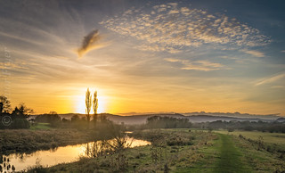 Waltham Brooks Sunset
