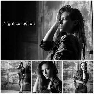 Night Collection collage