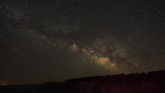 DSC_0027 milkyway from yavapai point 850 (guine) Tags: grandcanyon grandcanyonnationalpark astrophotography astrolandscape stars milkyway nightsky night