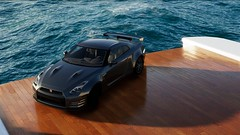 Highlife Zilla (Lokopixo) Tags: nissan gtr godzilla crew car drive speed calm 4k water boat highlife