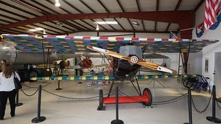 Fokker D.VII replica in Addiso