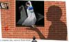 L'OMBRA DEL VENTO (ADRIANO ART FOR PASSION) Tags: ombra shadow finestra window vento wind riflesso specchio fotomontaggio photomontage photoshop specchionero blackmirrow adriano adrianoartforpassion murodimattoni muro ragazza girl brickswall mattone bricks mattoni