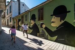 Street art a Civitacampomarano by Napal (maresaDOs) Tags: civitacampomarano molise it italy street streetart festival mural murales napal giugno 2018 campobasso graffiti