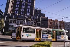 St Vincent's Plaza (andrewsurgenor) Tags: transit transport publictransport electric streetscenes citytransport city urban trams streetcars trolleys melbourne victoria australia
