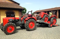 Same Ariete 480 DT & Same 360 C DT (samestorici) Tags: trattoredepoca oldtimertraktor tractorfarmvintage tracteurantique trattoristorici oldtractor veicolostorico