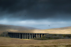 Ribblehead Viaduct (fish95th) Tags: ribbleheadviaduct ribblehead yorkshiredales yorkshiredalesnationalpark nikonp7100 railway railwayarchitecture settlecarlisle winter