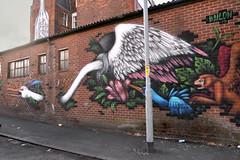 Manchester street art (PentlandPirate of the North) Tags: bailon northernquarter manchester streetart graffiti