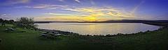 Kielder Dam Sunset (Steve Hopkirk) Tags: kielderwater sonya7iii on1photoraw2018 hdr sunset northumberland northeastenglandsonykielderhdrpanorama