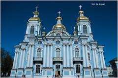 Catedral de San Nicolás de Bari o de los marineros (San Petersburgo) (salvador g de miguel) Tags: sannicolas sanpetersburgo rusia marineros kurst sgdemiguel pentaxk20d