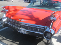 1959 CADDY (goldiesguy) Tags: goldiesguy gm automobile auto automobiles antique cars car classic classics carshow cadillac classicrearendscars old outdoors vehicle vehicles
