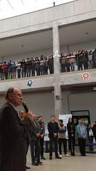 08/06/18 - Visita à Escola Sesi/Senai de Gravataí/RS. Presidente em exercício da FIERGS, Gilberto Petry, na escola de ensino médio do Sesi.