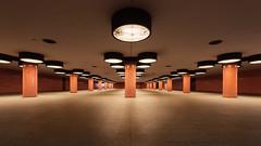 Unterführung am Messedamm (_LABEL_3) Tags: architecture architektur innenraum unterführung underpass