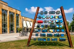 Cubes (FocusPocus Photography) Tags: würfel cubes skulptur sculpture kunst art stadt city ludwigsburg forum gebäuse building architektur architecture