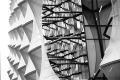 behind the facade (Andrew Eadie) Tags: american embassy london nine elms vauxhall diplomatic mission architecture kieran timberlake crystalline cube mono canonefs1585mmf3556isusm andreweadie