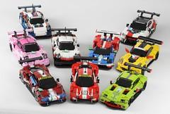 Le Mans Racers of the GTE PRO class (Lasse Deleuran) Tags: wec le mans ford gt bmw m8 gte aston martin amr porsche 911 rsr ferrari 488 evo chevrolet corvette