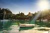 Portofino in backlight (Alessandro Giorgi Art Photography) Tags: sun portofino over sole light luce raggio ray barca boat liguria italy nikon d7000