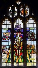 Brandesburton, St Mary's church, window (Jules & Jenny) Tags: brandesburton stmaryschurch stainedglasswindow harryharvey