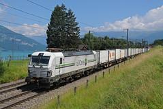 476451 - Einigen (CH) 14/06/18 (James Welham) Tags: 63680 476451 railcare vectron einigen spiez thun brig niederbottingen switzerland bernese oberland