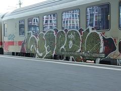 637ers (mkorsakov) Tags: münster hbf bahnhof mainstation zug train ic intercity graffiti piece bunt colored 637ers
