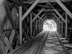 McDermott Covered Bridge Interior (walter_g) Tags: minoltaxds minoltamd3570mmf35macro fujineopanacros diafine epsonv500 vuescan rawtherapee gimp210