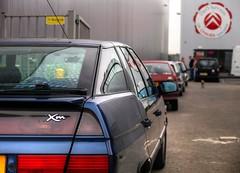 Citroën XM 2.0i Prestige (Skylark92) Tags: nederland netherlands holland flevoland almere xenonstraat do citroen service garage bxclub bollen bbq meeting specialist xm 20i prestige lpg 99pjst 1998 158