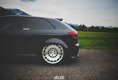 AUDI A3 (JAYJOE.MEDIA) Tags: audi a3 low lower lowered lowlife stance stanced bagged airride static slammed wheelwhore fitment rotiform