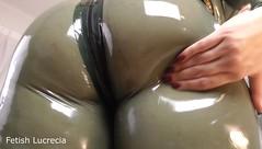 fetishLucreciaLatexCatsuitAssworship9 (madam.lucrecia1) Tags: ass big facesitting assworship curvy bbw lucrecia corsage catsuit latex rubber mistress femdom
