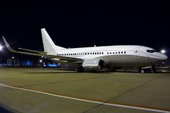 Maleth Aero Boeing 737-524 9H-MAC (Mario Alberto Ravasio) Tags: maleth aero boeing 737524 9hmac nightshot malpensa mxpairport