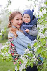 Dana family (truewonder) Tags: baby girl lovely flowers summer ural apple appletree family love mom mommy green white stylish russia ekb