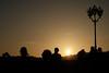 che sagome! (♥iana♥) Tags: tramonto sunset viacaracciolo silouettes controluce backlights