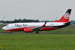 5N-BBM  B737-3HA(WL)  Max Air (n707pm) Tags: 5nbbm b737 737300 737 737wl boeing airport airplane aircraft airline ngl maxair einn snn coclare ireland rineanna ngl612 delivery 02062018 shannonairport cn27720