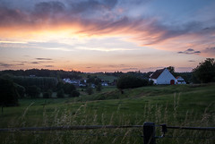 Lasne (dressk) Tags: lasne brabant wallon walloonbrabant wallonia wallonie belgique belgium belgië town village countryside sunset evening nature farm nikon d40x nikond40x europe
