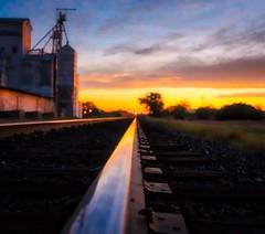 Sunset Train Tracks, Marfa TX (sbmeaper1) Tags: hdr sony a7r2 sunset train tracks marfa tx texas rail