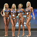 Bikini masters C 4th Stern 2nd Fung 1st Pacht 3rd Foster