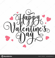 Valentines Day Oblique Lettering. Handwritten Romantic Greeting Card with Text Happy Valentines Day. February 14, Love and Heart. (malucardoso92) Tags: day happy text card typography banner graphic love illustration lettering february calligraphy art celebration decoration decorative holiday invitation label romance romantic sign symbol template valentine heart design swirl classic ornament ornate style vector event calligraphic congratulation background greeting white abstract 14 beautiful bow cute decor element font letter logo red