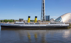 TSS QUEEN MARY (fordgt4040) Tags: tssqueenmary excursionsteamer steamturbineship glasgowsciencecentre glasgow riverclyde westofscotland moored