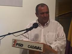 José Silvano na tomada de Posse da Concelhia do PSD Cadaval