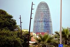 TORRE GLÒRIES (abans TORRE AGBAR) (Yeagov_Cat) Tags: 2018 barcelona catalunya 2005 agbar avingudadiagonal b270 diagonal jeannouvel torre torreagbar torreglòries glòries
