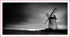 Going Mono at the Mill (Deek Wilson) Tags: ballycopelandwindmill millisle longexposure mono black white sky clouds windmill northernireland landscape ardspeninsula