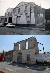 Mason Street, Edge Hill, 1974 and 2018 (Keithjones84) Tags: liverpool oldliverpool thenandnow rephotography