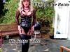 PVC on the Patio (Kinkette Pec) Tags: kinkette fetish erotic drag mask masker femalemasking pvc corset kinky pervert perversion highheels rubber latex nylons bodystocking fishnets crossdressing crossdresser transvestite shemale trans lgbt