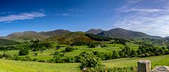 Mourne Mountains Panorama (Jeremy Gadd) Tags: ulster mournemountains panorama mountains northernireland ireland irishlandscapes countydown