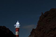 Escalaré hasta donde haga falta (Leticia Lorenzo S Photography) Tags: landscape canarias lighthouse star sky islascanarias canaryisland farodeteno tenerife