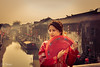 Chinese Bride (furbs01 Thanks for 5,000,000 + views 28 Jan 2018) Tags: traditional travel bride wedding weddingdress rivercity red water sunrise