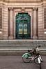 Democracy Doorway (orkomedix) Tags: canon 6d 24105l stockholm sweden door riksdagshuset reflexion bikes bicycle stairs sightseeing outdoor stkhlm