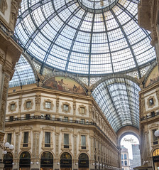 Galleria Vittorio Emanuele II (Rainfire Photography) Tags: mall architecture history milan italy nikon d7200