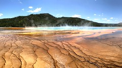Grand Prismatic II (dstrong2071) Tags: rainbow yellowstonenationalpark wyoming grandprismatic geyser water forest sky