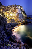 Lovely night (T.ye) Tags: cinque terre italy fisherman countryside
