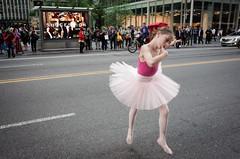 ballerina X-ing (zlandr) Tags: ricohgr midtown manhattan zlandr chrisfarling ballerina nyc newyork newyorkcity city urban