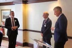 07-06-2018 Exclusive Luncheon with Secretary of State Pieter De Crem - DSC08967